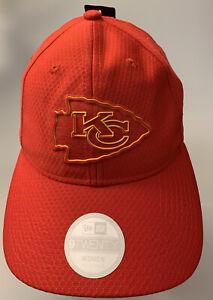 NFL Kansas City Chiefs Women's NEW ERA 9TWENTY Adjustable Cap, Red/Yellow