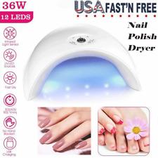 36W Led Uv Nail Polish Dryer Fast Curing Nail Polish Spa Professional Nail Lamp