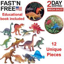 12 Pack Realistic Dinosaur Figures 5
