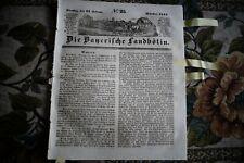 1844 Landbötin 25 / KLoster Niederschönenfeld Prauß Irland Lisieux