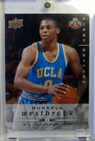 2008-09 Upper Deck First Edition Russell Westbrook Rookie RC #262, OKC Thunder
