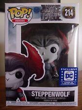 Funko Pop!: Heroes #214 Steppenwolf (LOC Exclusive) Justice League[NIB/Near Mint