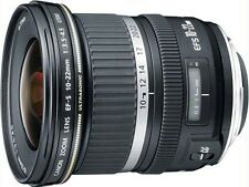 NEW Canon EF-S 10-22mm f/3.5-4.5 USM Lens