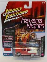 JOHNNY LIGHTNING 1:64 HAVANA NIGHTS 1955 Chevrolet Bel Air Convertible VERSION A