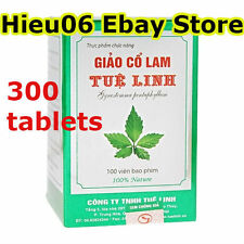 300 tablets Jiao gu lan Giao co lam Jiaogulan Gynostemma extract Herbal remedy