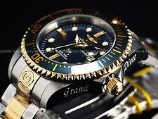 New Invicta Mens 300M Diamond Grand Diver Automatic Lim. Ed. Black MOP SS Watch