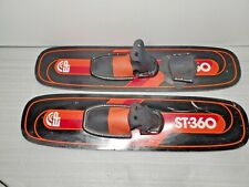 """New listing EP ST 360 TRICK WATER SKIS SHORT 42"""" VINTAGE 1982"""