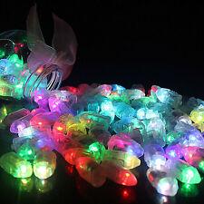 LED Lampen für leuchtende Luftballons Papierlaterne Ballons Licht Deko Party neu