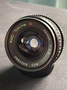 RMC Tokina 28mm 1:2.8 (M42 Objektivanschluss)