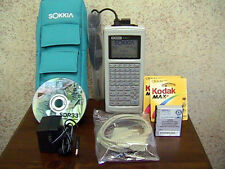 SOKKIA SDR33 4MB DATA COLLECTOR DATALOGGER PERFECT COMPLETE KIT SDR 33 WARRANTY