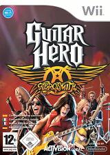 Guitar Hero: Aerosmith  NINTENDO Wii   Geschenkidee oder HEIMBESCHÄFTIGUNG