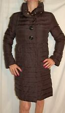 Betsey Johnson  Black Down Filling Lined Snap Closure puffer Coat Jacket size S