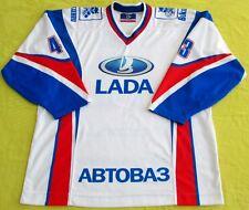 2007/08 Original Lada-Togliatti Game Worn Jersey/Russia/Free Ship In Usa/Charity