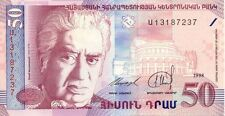 Billet banque ARMENIE ARMENIA 50 1998 NEUF UNC