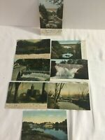 8 Vintage Post Cards of Newton Massachusetts 5 Posted