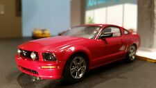 AutoArt SLOT Car 1:32 Ford MUSTANG GT 2005 Red Lighting Lamps New in Display Box