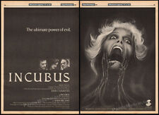 THE INCUBUS__Original 1981 Trade AD film promo / horror poster__JOHN CASSAVETES