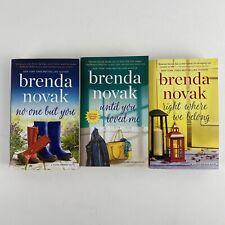 BRENDA NOVAK SILVER SPRINGS SERIES ROMANCE NOVELS 3 BOOK LOT PAPERBACK ROMANCE