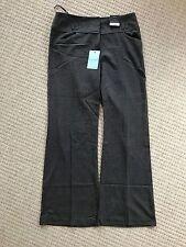 Dorothy Perkins Women's Ladies Smart Wide Leg Trouser Grey ~ Size 10R ~ Workwear