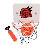 Indoor Basket Ball Hoop Board Mini Rim Sport Door Game Toy Shoot Back Kids Fun