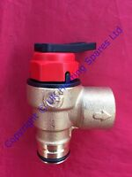Genuine Vokera Linea 24 28 & Plus AG 3 Bar Pressure Relief Safety Valve 1806