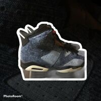 Size 16 - Jordan 6 Retro Washed Denim 2019