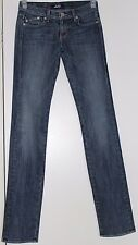 Women's Rock & Republic Low Rise Medium Blue Wash Straight Leg Size 24X34