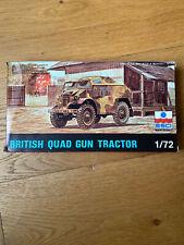 Maquette Esci British Quad Gun Tractor 1/72