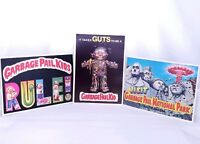 "Vintage Garbage Pail Kids 5""x7"" Giant postcard stickers 1986 Topps Chewing Gum"