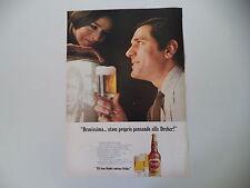 advertising Pubblicità 1968 BIRRA BEER DREHER