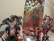 McFarlane Toys| Spawn Figure Lot | Violator, Gravedigger, Demons & 2 Clowns Set