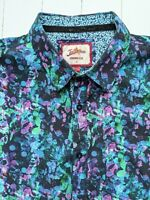 JOE BROWNS ABSTRACT / FLORAL SHIRT XL / XXL  - Beautiful Style & Fabric