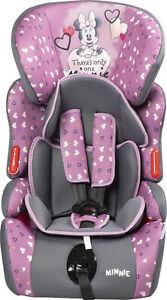 Minnie Mouse seggiolino auto gruppo 1/2/3 (9-36KG) Disney Minnie
