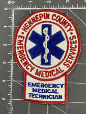 Vintage Hennepin County Emergency Medical Services Patch Technician EMS EMT MN