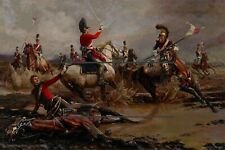 NAPOLEONIC WAR'S 1803 to 1815  REPRODUCTION  PRINT  FRAMED