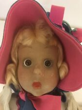 Lenci Glass Eyed Felt Doll 1930s
