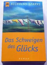 Nicholas Sparks - Das Schweigen des Glücks (2001) Buch, neuwertig