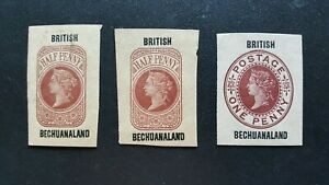 Bechuanaland - Postal stationery ( 3 ) - please look