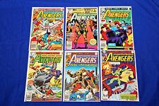 Avengers Lot of 6 Comics #190-218 Bronze Age Key Thor High Grade