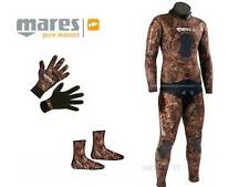 MUTA SUB MARES INSTINCT SIZE 4 BROWN 55 KIT MIMETICA WETSUIT CAMO BROWN OPENCELL