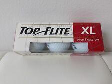 New 1 set of 3 Pieces Spalding Top Flite Xl~ High Trajectory #3 Golf Balls~