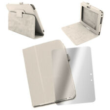 """CASE COVER+SCREEN PROTECTOR SLIM POUCH PU LEATHER WHITE AMAZON KINDLE FIRE HD 7"""""""