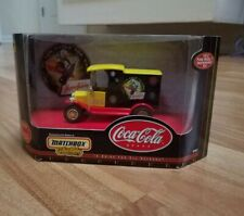 Matchbox Coca Cola Collectibes Panel Van Truck Happy Holidays