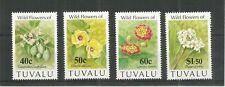 TUVALU 1993 FLOWERS SG,664-667 U/MM N/H LOT 3759B
