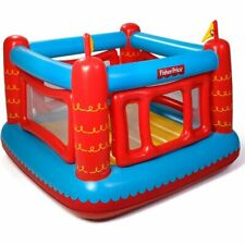 Fisher Price Kids Castle Bouncer Inflatable Bounce House Jumper 50 Play Balls