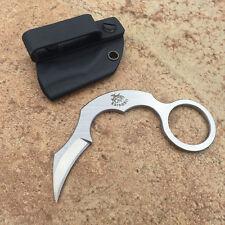 The one EDC New Mini Claw Karambit Full D2 steel Handle Neck tactics Claw knife