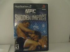 UFC Sudden Impact Sony PlayStation 2 PS2 Video Game Complete! Tested