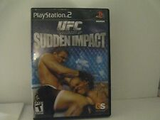 UFC Sudden Impact Sony Playstation 2 PS2 Videospiel komplett! getestet