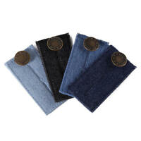 Unisex Waist Band Extender Trousers Jeans Skirts Maternity Button Hooks
