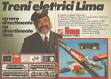 X0549 Treni elettrici LIMA - Trans Europe Express - Pubblicità del 1976 - Advert
